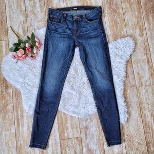 Hudson Krista Super Skinny Raw Hem Jeans Size 29